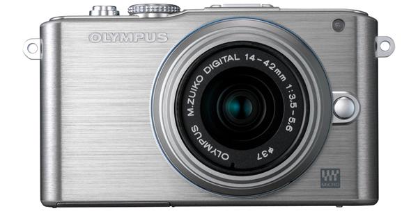 Systemkamera Olympus Pen E-PL3 + 14-42-mm-Objektiv für 249 € - 17% sparen