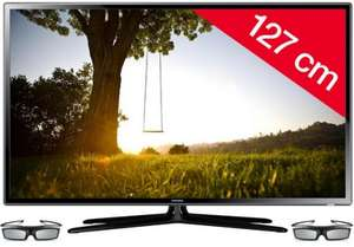 3D LED-Backlight-TV Samsung UE50F6100 für 828,99 € statt 1035,84 € - 20% sparen