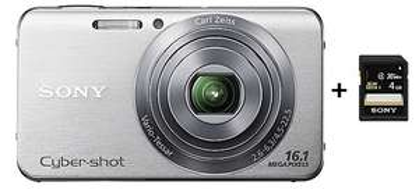 Digitalkamera Sony Cyber-shot DSC-W630 + 4 GB SDHC-Karte für 59 €