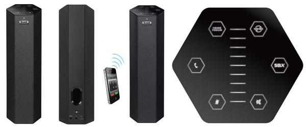 Creative Sound Blaster Axx SBX 10 - Bluetooth-Lautsprecher mit Mikrofon für 57 € - 29% sparen *Update*