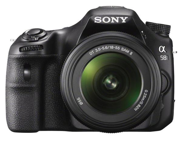 DSLR Sony Alpha SLT-A58K mit 18-55 mm-Objektiv für effektiv 390 € *Update* jetzt für effektiv 326 €