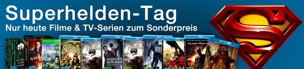 Superhelden-Tag bei Amazon: Blu-rays ab 7,97 € und im Preis reduzierte Box-Sets