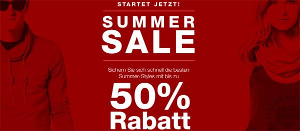 Summer Sale bei Tom Tailor mit bis zu 50% Rabatt *Update* jetzt zusätzlich 15% Rabatt auf Sale-Ware