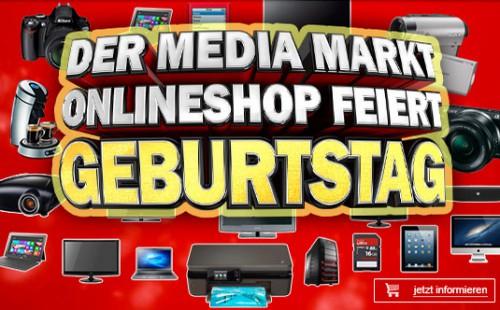 Media Markt Österreich mit sehr guten Angeboten zum 1. Geburtstag des Online-Shops *Update* Noch bis 6. Juli zuschlagen!