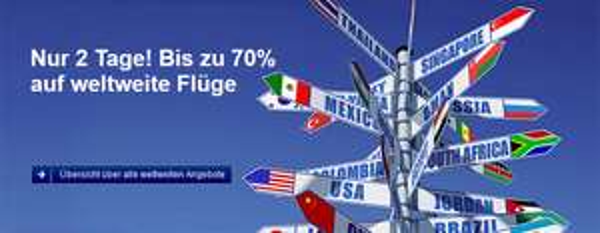 48 Stunden-Sale bei der Lufthansa – und zusätzlich 30 € sparen mit Gutschein bei Abflug ab Österreich