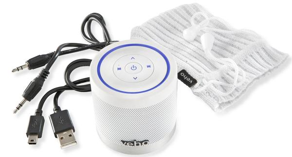 """Tragbarer Bluetooth-Lautsprecher Veho """"Ice"""" für 35,90 € - 43% Ersparnis!"""