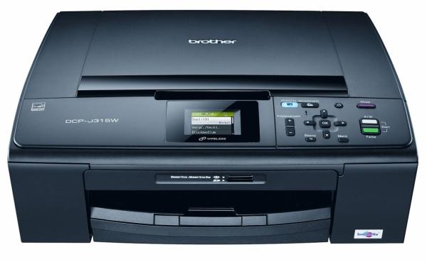 Multifunktionsdrucker Brother DCP-J315W für 78,85 € - 21% Ersparnis