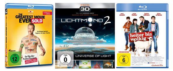 Wöchentliche Filmaktion bei Amazon: Blu-rays und DVDs ab 4,97 €