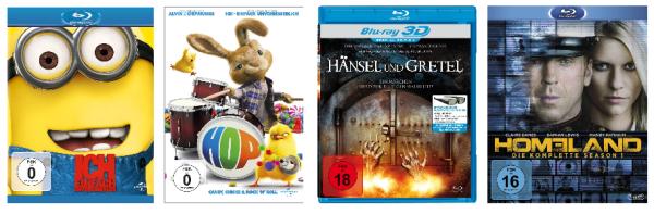 Amazon kontert die Müller-Angebote: Preisreduzierungen bei DVDs und Blu-rays