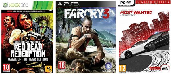 Schnäppchen bei Saturn: 3 Spiele (PC, Xbox oder PS3) für zusammen 50 €! *Update*