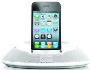 Dockingstation JBL On Stage III in iPhone Weiss für 44 € bei Redcoon - 23% sparen
