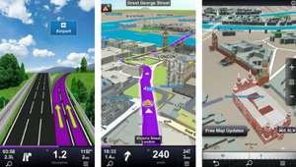 Navigationssoftware Sygic iOS für 16,99 € - 72% Ersparnis gegenüber Normalpreis