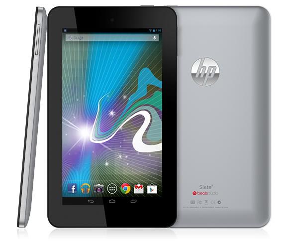 HP Slate 7 Android-Tablet bei Media Markt oder Libro für 97 Euro statt 136 Euro