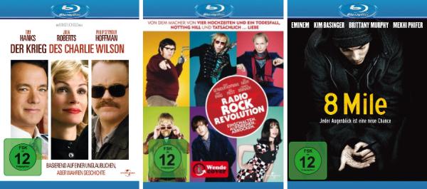 Neue DVD- & Blu-ray Angebote bei Amazon z.B. ausgesuchte Blu-rays für je 6,97 €