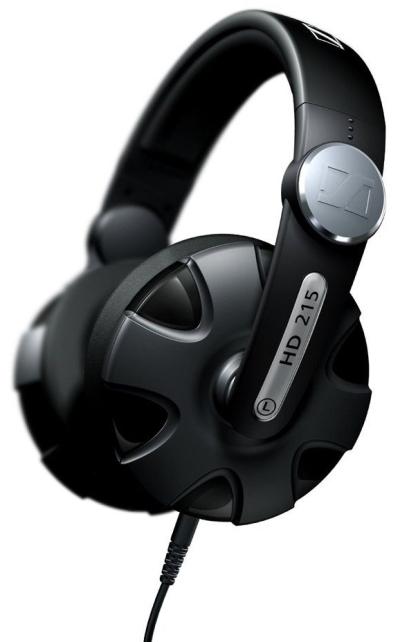 Over-Ear-Kopfhörer Sennheiser HD 215 für 64,49 € - 14% Ersparnis