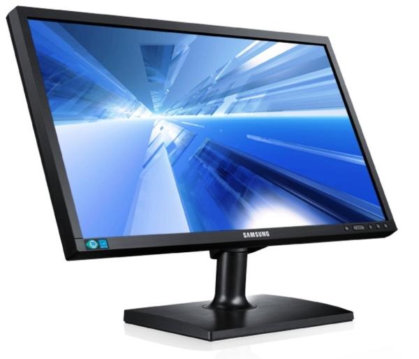 LED-Backlight-Monitor Samsung S24C200BL (24'', DVI, 5ms Reaktionszeit) für 129 € - 16% sparen
