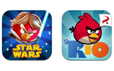 """Guter Deal für iOS-User: Angry Birds """"Star Wars"""" und """"Rio"""" kostenlos - auch in HD"""