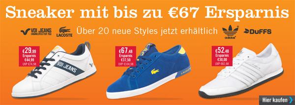 MandMDirect: Große Auswahl an Sneakern von Adidas, Nike & Co. zu guten Preisen