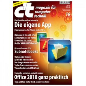 """Gratis-Zeitschriften: 1 Heft """"Auto Motor und Sport"""" gratis und 30 Ausgaben C't Magazin als Gratis-Download"""