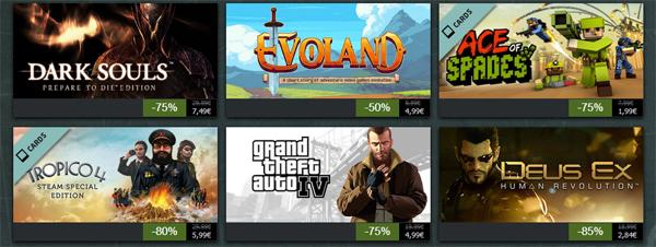Steam Summer Getaway-Aktion – heute unter anderem mit Dead Island: Riptide und Dark Souls