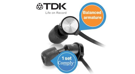 Super! In-Ear-Ohrhörer TDK BA100 High Fidelity für 55,90 € - 46% Ersparnis