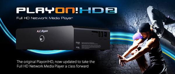 Netzwerk-Mediaplayer AC Ryan Playon! HD2 für 55,90 € bei iBOOD - 47% Ersparnis