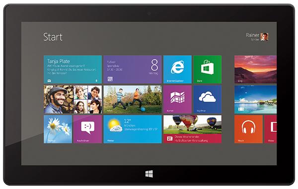 Top! Microsoft Surface RT (32 GB) für 279 € durch 50 € Gutschein - 15% sparen