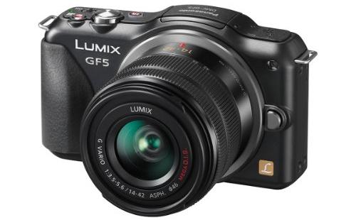 Systemkamera Panasonic Lumix DMC-GF5 + 14-42-mm-Objektiv für 249 € *Update* jetzt für 199 € - 22% sparen