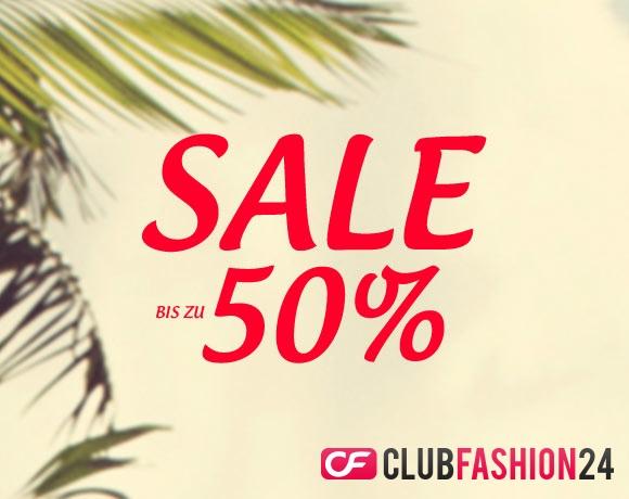 50% Gutscheincode für ClubFashion24 - gilt auch auf reduzierte Artikel im SALE!