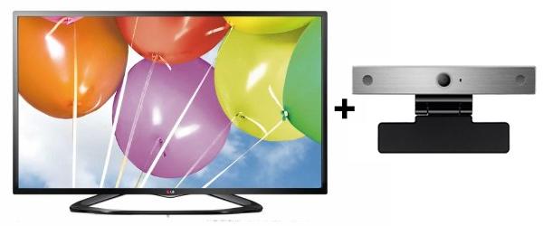 LG 42LN5758 (42″ LED-Backlight, Triple-Tuner, Smart TV, WLAN) + Skype-Kamera für 449 €