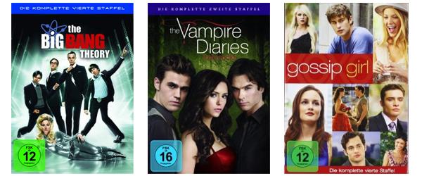 Amazon vs. Müller & Saturn: 3 Blu-rays für 10 € und 3 TV-Serien-Staffeln für 25 €
