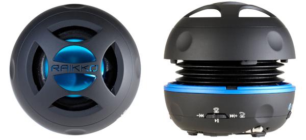 Mini-Lautsprecher Raikko Dance Bluetooth für 37,51 € bei Amazon - 28% sparen