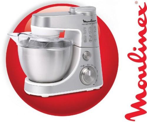 Küchenmaschine Moulinex Gourmet Plus QA404D für 139 € bei Mömax