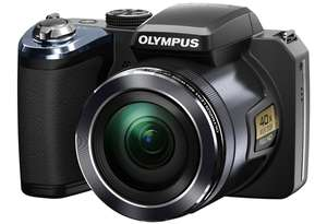 Bridge-Kamera Olympus SP-820UZ (14 MP, 40x opt. Zoom) für 149,95 € bei Hartlauer - 19% Ersparnis