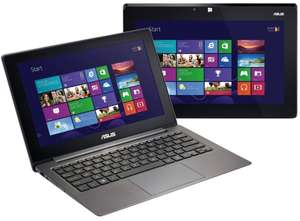 Amazon Notebook-Sommer: Convertible Ultrabook Asus TAICHI21-CW009H (11,6'', Intel Core-i7, 4 GB RAM) für 999 € - 26% sparen