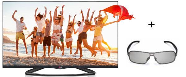 LG 55LA6608 - LED-Backlight-TV mit WLAN, Triple-Tuner & Smart TV für 999 € *Update* jetzt für 888 €