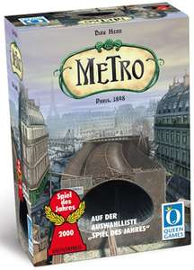 """Brettspiel """"Metro"""" von Queen Games für 19,99 € bei Amazon - 33% sparen"""