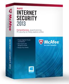 McAfee Internet Security 2013 ein Jahr lang komplett kostenlos nutzen