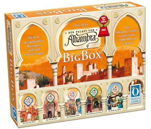 """Brettspiel """"Der Palast von Alhambra"""" in der Big Box für 28,95 € *Update* wieder verfügbar!"""