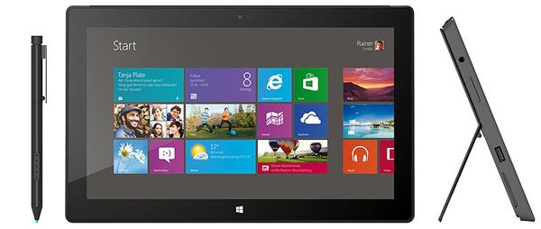 Microsoft Surface Pro (Win 8, 128 GB) für 405,90 € - 22% sparen
