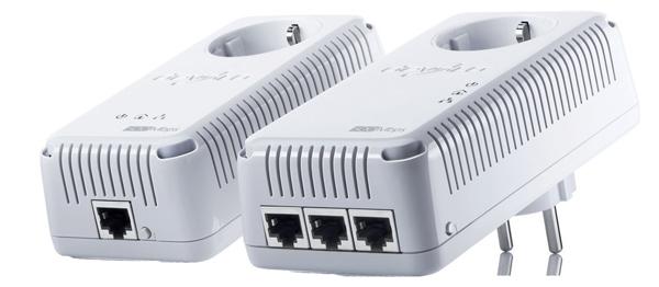 Devolo dLAN 500 AVtriple+ Adapter Starter Kit für 99 € - 22% sparen