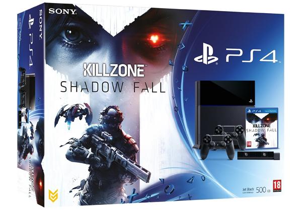 PlayStation 4 (500 GB) + Killzone: Shadow Fall + PS4-Kamera + 2. Controller *Update* jetzt für 499 €