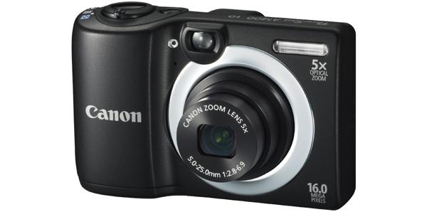 Einsteigerkamera Canon PowerShot A1400 (16 MP, 5-fach optischer Zoom) für 79,97 €