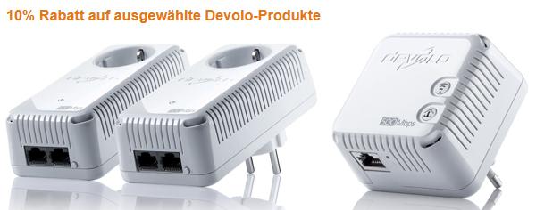 Amazon: 10% Rabatt auf ausgewählte Devolo-Produkte - mit Gutschein