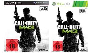 Call of Duty: Modern Warfare 3 (Xbox 360, PS3) für je 15 €