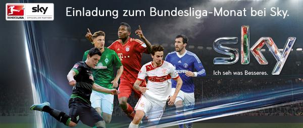 Sky Österreich: deutsche Fußball Bundesliga im Oktober gratis für UPC-Kunden *Update* letzte Chance