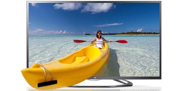 """LG 55LA6418 (WLAN, Triple-Tuner, Smart TV) + 3D Blu-ray """"Der Hobbit"""" für 799 € - 22% Ersparnis"""