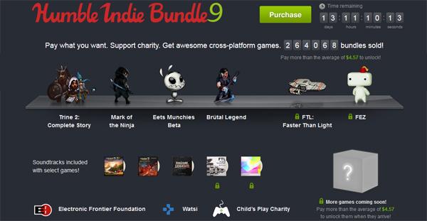 The Humble Indie Bundle 9 – Spiele zum selbstgewählten Preis kaufen *Update* weitere Spiele