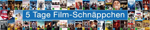 5 Tage Film-Schnäppchen bei Amazon mit günstigen TV-Serien, Box-Sets und Filmen auf DVD & Blu-ray