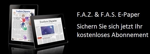 Jahresabo der FAZ als ePaper gratis & selbstkündigend für Studenten